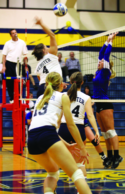 Webster University volleyball