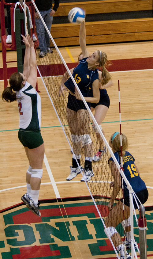 Volleyball team earns No. 1 seed with win on court, in ...