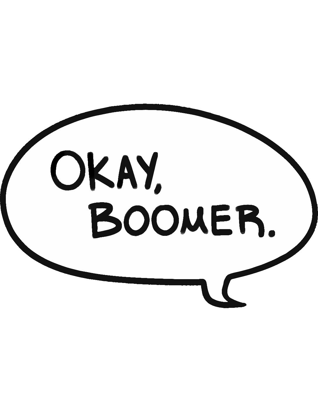 Image result for ok boomer
